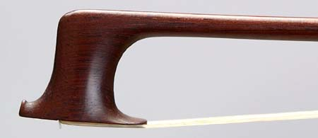 NMM 3409.  Violin bow attributed to François Xavier Tourte (Tourte le jeune), Paris, ca. 1775-1790.