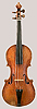 NMM 3359.  Violin, 1/2-size, by Lorenzo Storioni, Cremona, 1793
