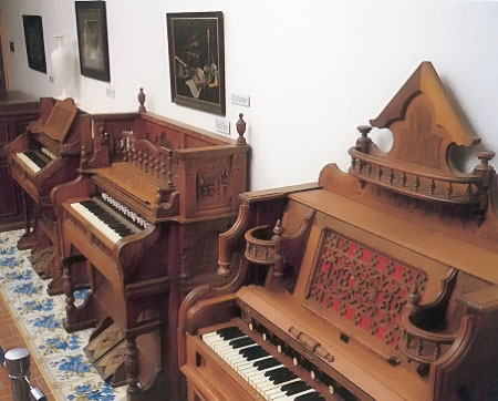 Display of Reed Organs