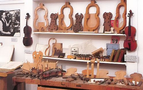 Violin-Maker's Workshop Exhibit